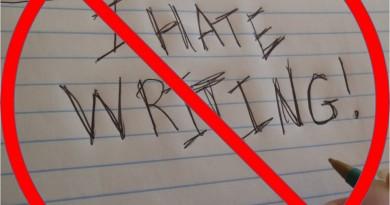 I Hate Writing | Everyday Learning Blog