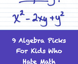 Kids who hate algebra