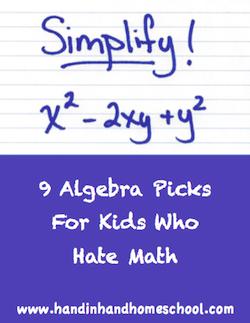 Kids who hate algebra