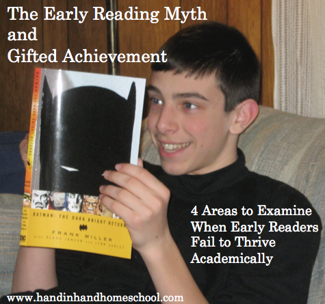 Early Reading Myth