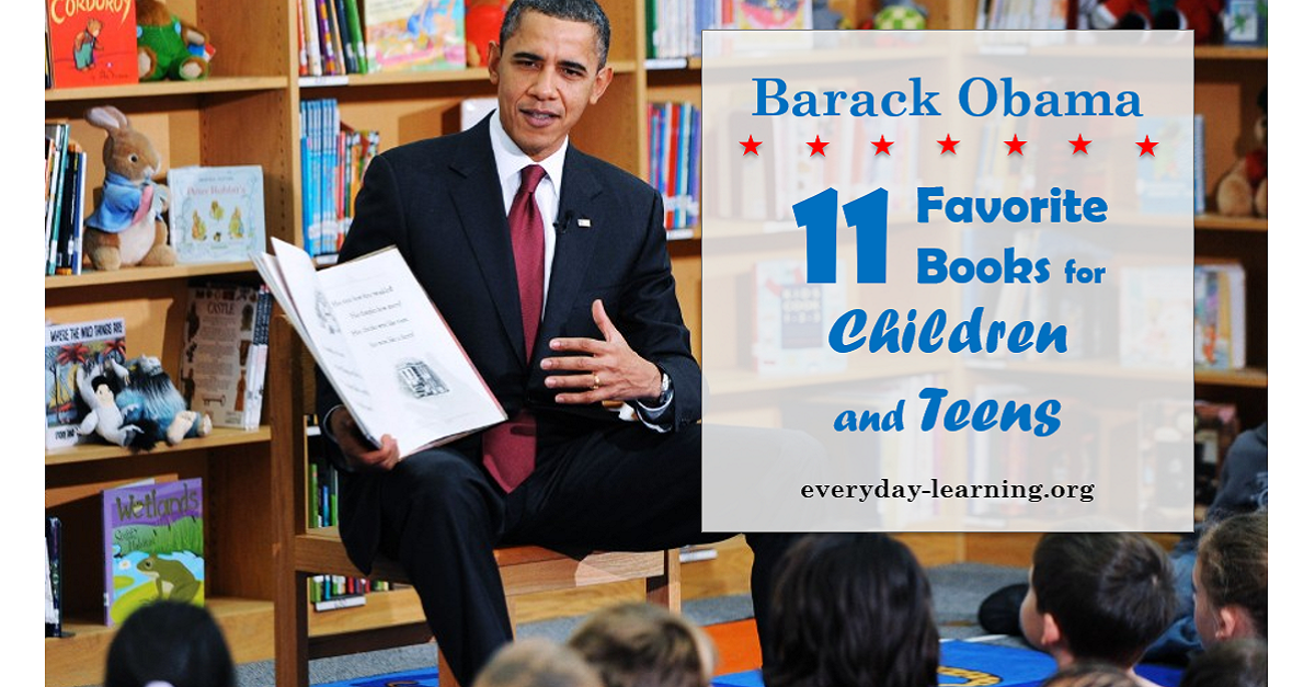 11 Favorite Books of Barack Obama to Share With Your Child