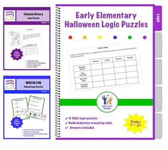 Everyday Learning logic puzzles