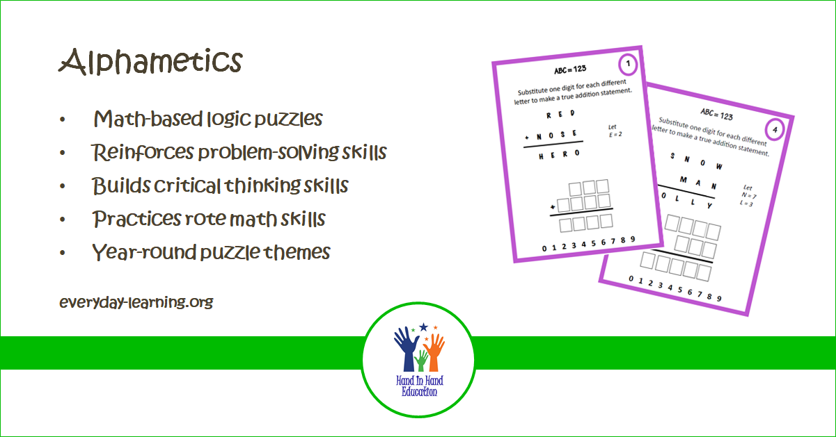 Alphametic logic puzzles