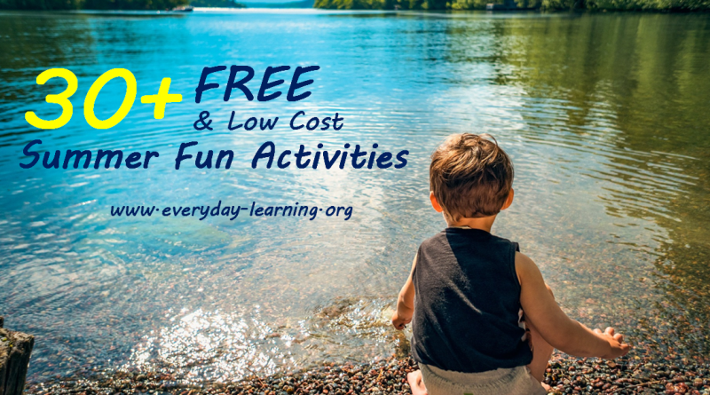 2018 30+ free summer kid activities
